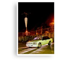 On a Wind-less night...... Canvas Print