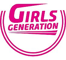 Girls' Generation 2015 logo comeback Photographic Print