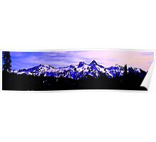 Purple Mountains Majesty Poster