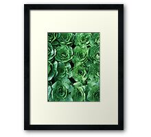 Garden Greenery Framed Print