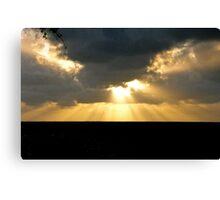Sunrise on the North Shore Canvas Print