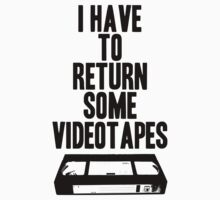 Videotapes T-Shirt