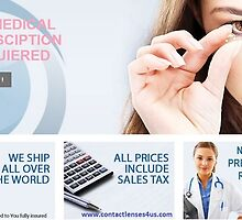 Buy Contacts without Prescription - www.contactlenses4us.com by contactlenses4