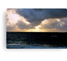 Sunrise on Oahu Canvas Print