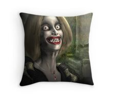 Look!!  Dinner Just Walked In Throw Pillow