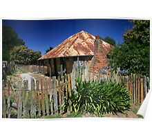Beyers Cottage, Hill End, NSW Poster
