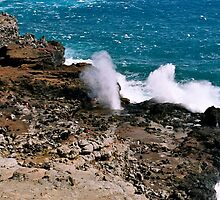Nakalele Blowhole by Oksana Fox