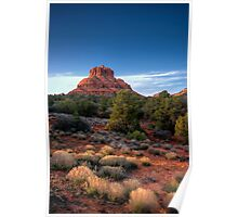 Last Light on Bell Rock Poster