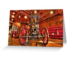 The Pioneer Steamer Greeting Card