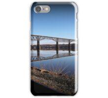 Hudson River Morning Span iPhone Case/Skin
