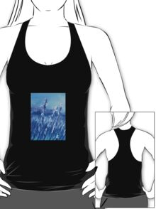 Lavender Field Abstract T-Shirt
