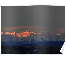 Morning Rockies Poster