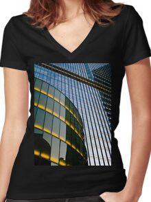 Windows & Light Women's Fitted V-Neck T-Shirt