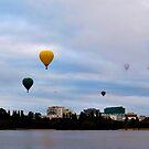 Balloon Panorama by Nigel Roulston