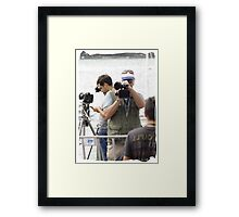 Here's looking at you kid Framed Print