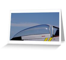A Mustang Canopy Greeting Card