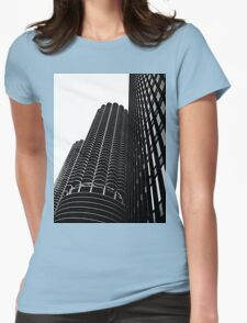Three Womens Fitted T-Shirt