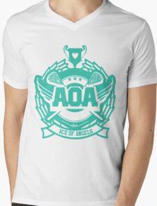 AOA - Heart Attack logo  Mens V-Neck T-Shirt