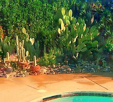WHEN LIVING IN THE DESERT -WE DO CACTUS by Sherri     Nicholas
