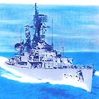 DDR 838 USS Ernest G Small South China Sea 1965 by David M Scott