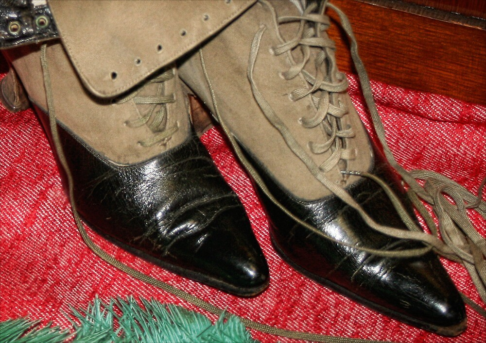 These Boots Were Made for Walkin'! by Nadya Johnson