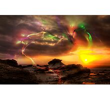Southern Lights Photographic Print
