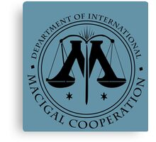 Department of International Magical Cooperation Seal - (Harry Potter) Canvas Print
