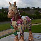 Ice Cream Horse Sculpture by ElsT