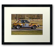 Lotus Sunbeam Framed Print