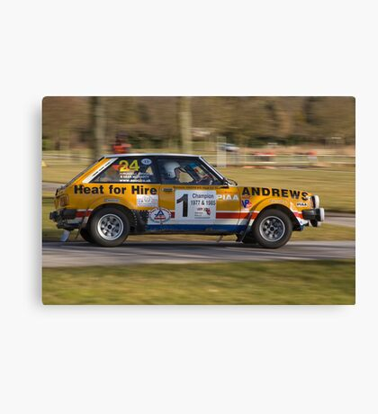 Lotus Sunbeam Canvas Print