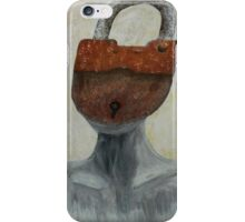Closed Minded  iPhone Case/Skin