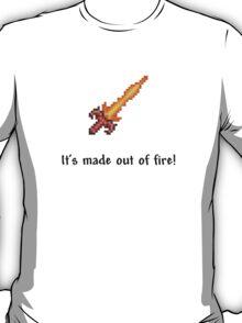Terraria - Fiery Greatsword T-Shirt
