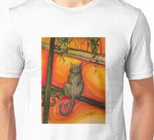 New Orleans Cat on Balcony Unisex T-Shirt