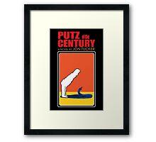 Putz Of The Century Framed Print