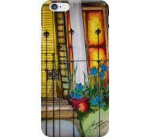 New Orleans Gated Garden iPhone Case/Skin