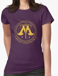BEAST DIVISION seal - (Harry Potter) Womens Fitted T-Shirt
