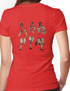 runners Womens Fitted T-Shirt