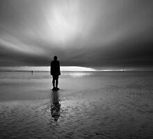 Antony Gormley - Another Place by Krzysztof Nowakowski