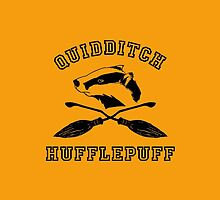 Hufflepuff Quidditch - Varsity style by hellobatata