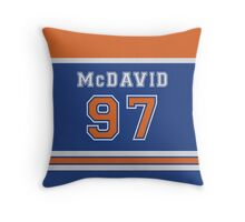 McDavid #97 Throw Pillow