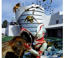 Ultraman vs. the killer bees by Susan Ringler