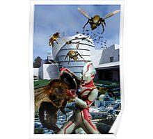 Ultraman vs. the killer bees Poster
