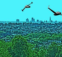 Scooting over the city by #fftw by TimConstable