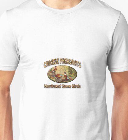 Chinese Pheasants Unisex T-Shirt