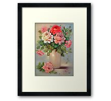 Multi Colored Roses Framed Print