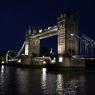 Tower Bridge at Night by RFK C