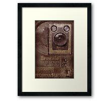 Brownie Framed Print