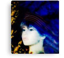 Barbie Blue Canvas Print