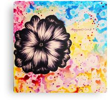 Love in Color Canvas Print