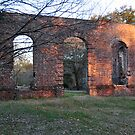 Biggen Church Ruins, Monck's Corner, SC, USA by James J. Ravenel, III
